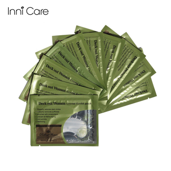 [40pcs/lot] Deck Out Women Crystal Eyelid Patch Anti-Wrinkle Collagen Eye Mask Remove Black Face care