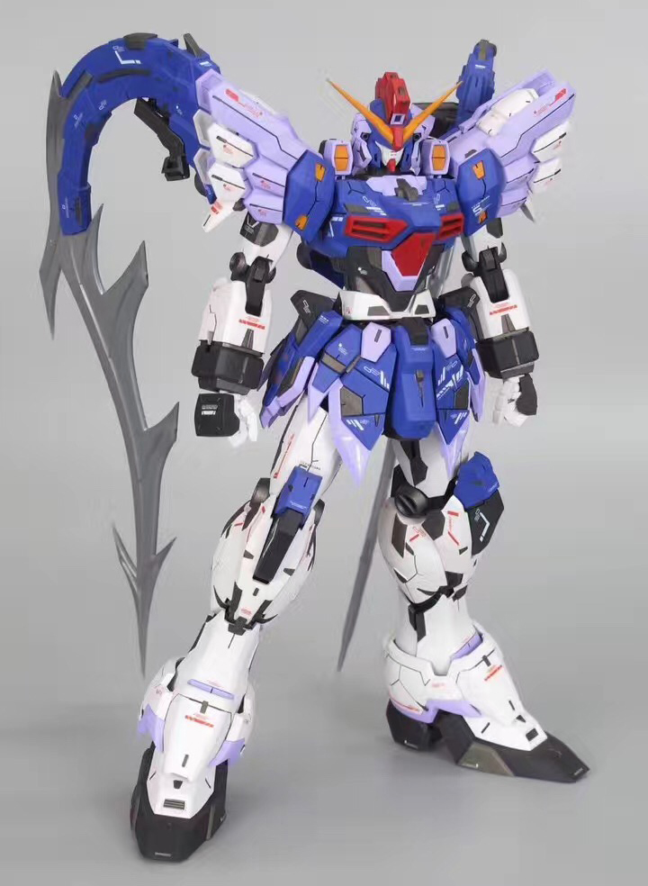 Anime Hobby Super Nova Mg 1 100 Gundam Sandrock Custom Endless Waltz Xxxg 01sr2 Model Kit Model Assemble Action Figure Robot Toy