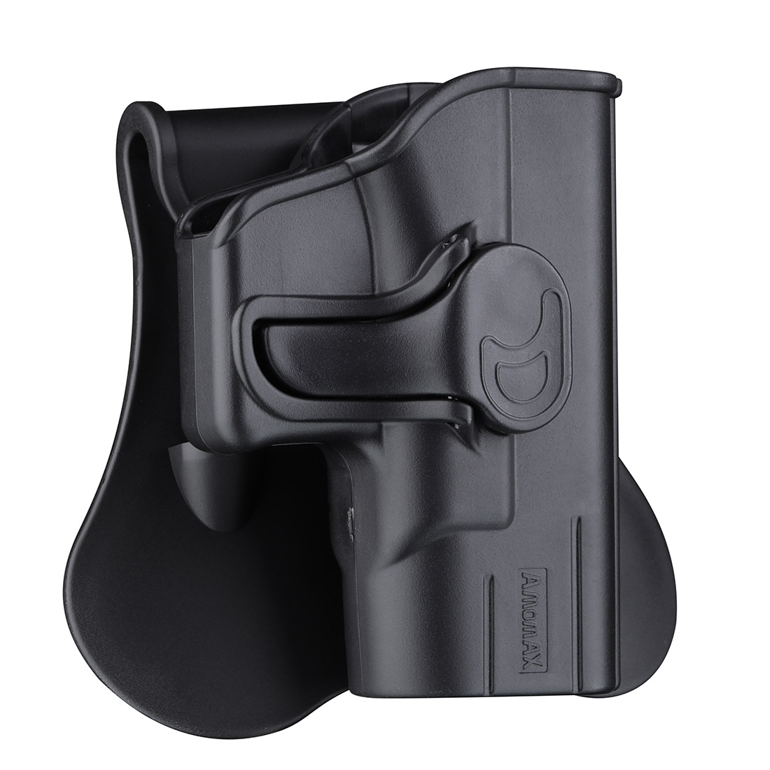 Amomax Adjustable Tactical Holster for Glock43 - Right-handed Black(Standard only with waist plate, no other accessories)