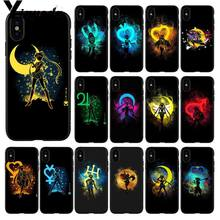 Yinuoda Sailor Moon Anime Shadow Telefoon Case Cover Shell Voor Apple Iphone 8 7 6 6S Plus X Xs max 5 5S Se Xr 11pro Max Cover(China)