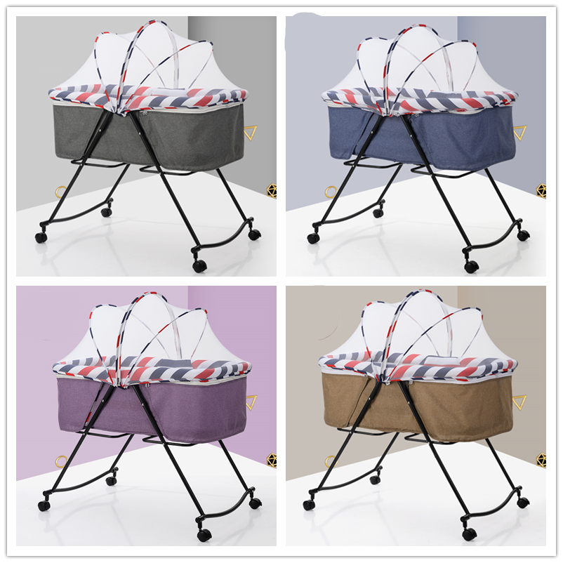 Baby Crib Travel Infant Travel Bed Sleeper Portable Cot Folding Rocking Cradle Baby Nest Cestas Para Newborn
