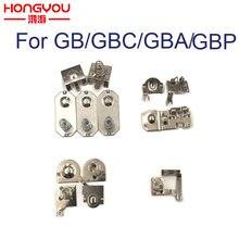 Substituição da mola da bateria dos contatos da mola dos terminais da bateria para nintendo game boy advance game console para gbp gba gbc gb