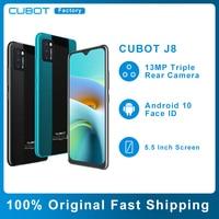 Cubot J8 Smartphone 3100mAh Battery Rear Triple Camera Android 10 Face Unlock 5.5″ Small Cheap Cell Phone 1