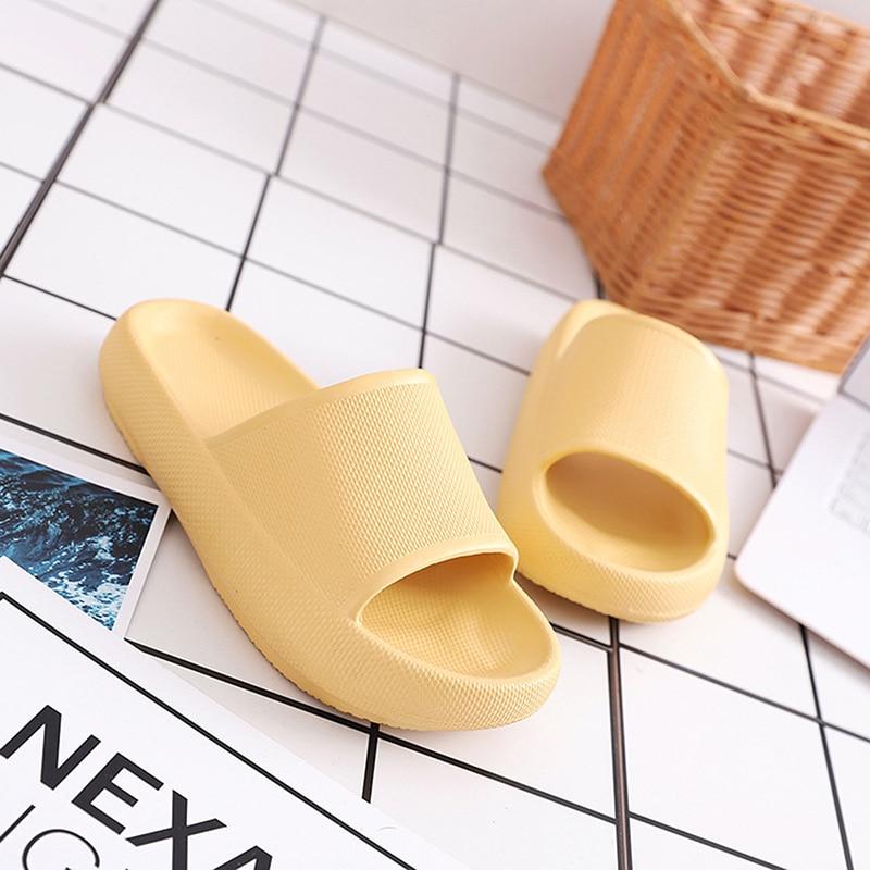 Удобные мягкие домашние тапочки; Новейшие технологии 2020 года; Очень мягкие домашние тапочки; Мужская и женская Нескользящая домашняя обувь; Пара тапочек|Тапочки|   | АлиЭкспресс