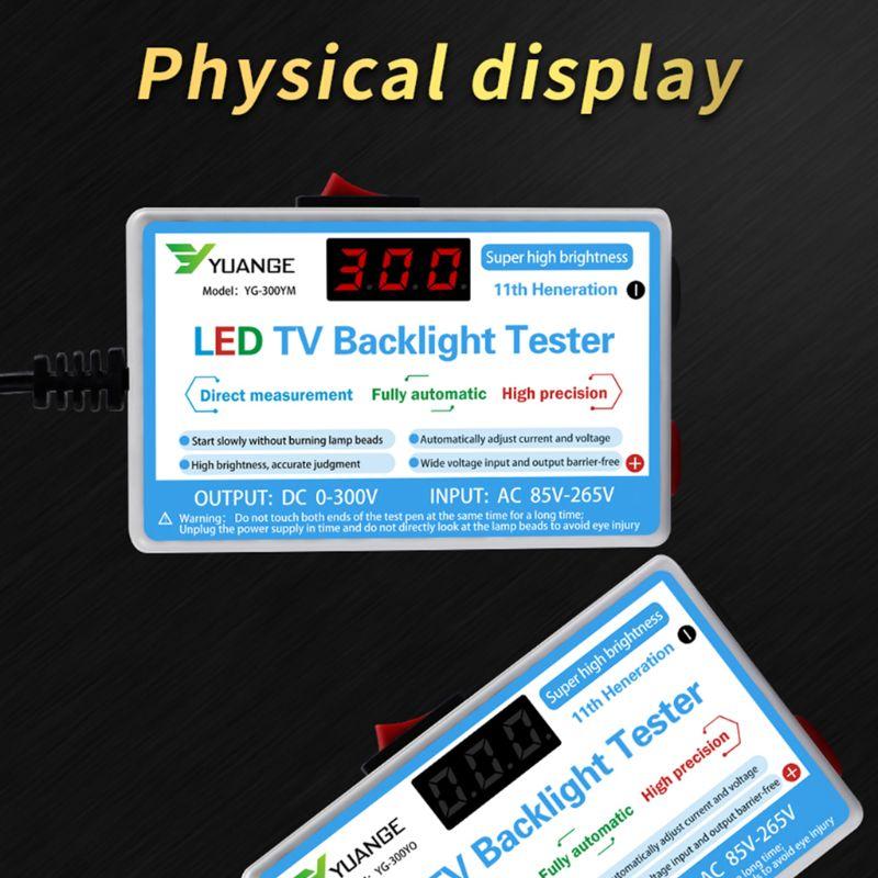 Yuange LED LCD TV Backlight Tester 5