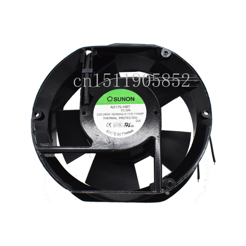 Para sunon A2175-HBT 17 cm 172*172*51mm ventilador de fluxo axial do capacitor ac220v