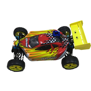 Free shipping HSP Baja 1/10 ratio nitro power off-road vehicle 4WD RC car 94166 and 18cxp engine speed 60-80KM/H 2