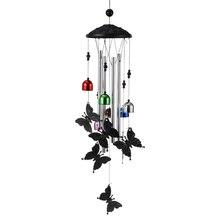 Wind Bell Butterflies Pendant Hanging Bell Wind Chime Hanging Garden Decoration