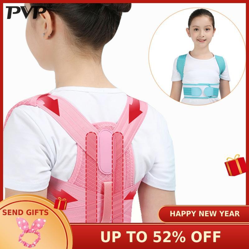 Corset orthopédique réglable d'enfants de ceinture de soutien de dos de correcteur de Posture d'enfants pour la santé d'épaule lombaire de dos de colonne vertébrale d'enfants