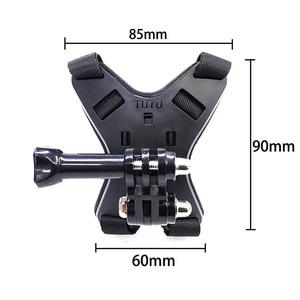 Image 5 - Motorhelm Mount Bracket Fix Band Voor Iphone Volledige Gezicht Chin Stand Met Telefoon Houder Voor Gopro Hero 8/7/6/5 Actie Camera
