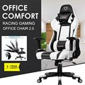 Furgle Pro Gaming Stuhl Safe & Dauerhafte Büro Stuhl Ergonomische Leder Boss Stuhl für WCG Spiel Computer Stuhl Schwere-duty Stühle