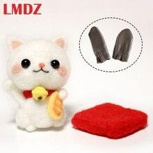 Lmdz 1 шт шерстяной фетр иглы котенком «сделай сам» с милым