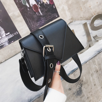 Fashion Small Flap Designer Wide Belts Women Shoulder Bags Luxury Pu Leather Crossbody Messenger Bag Chic Female Purses 2020 Sac