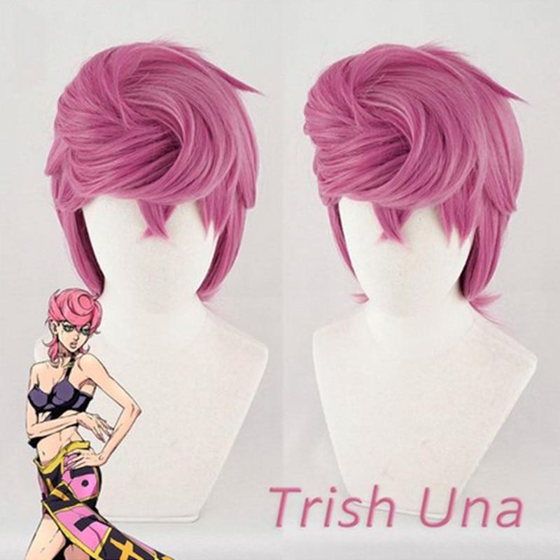 JoJo/'s Bizarre Adventure Kira Yoshikage Short Costume Cosplay Wig Cap Track