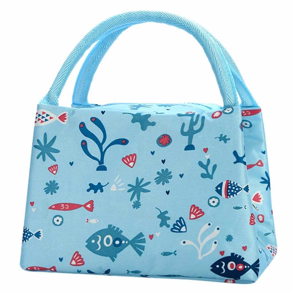 للجنسين في الهواء الطلق العود الطازجة إبقاء الغداء حقيبة للحفاظ على البرودة للماء نزهة السفر تخزين Icepack الحرارية معزول الأزياء الغداء أكياس