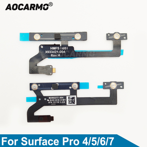 Image 1 - Aocarmo For Surface Pro 4 Pro4 For Surface Pro 5 6 7 Power On/Off Volume Up/Down Button Flex Cable Replacement Parts
