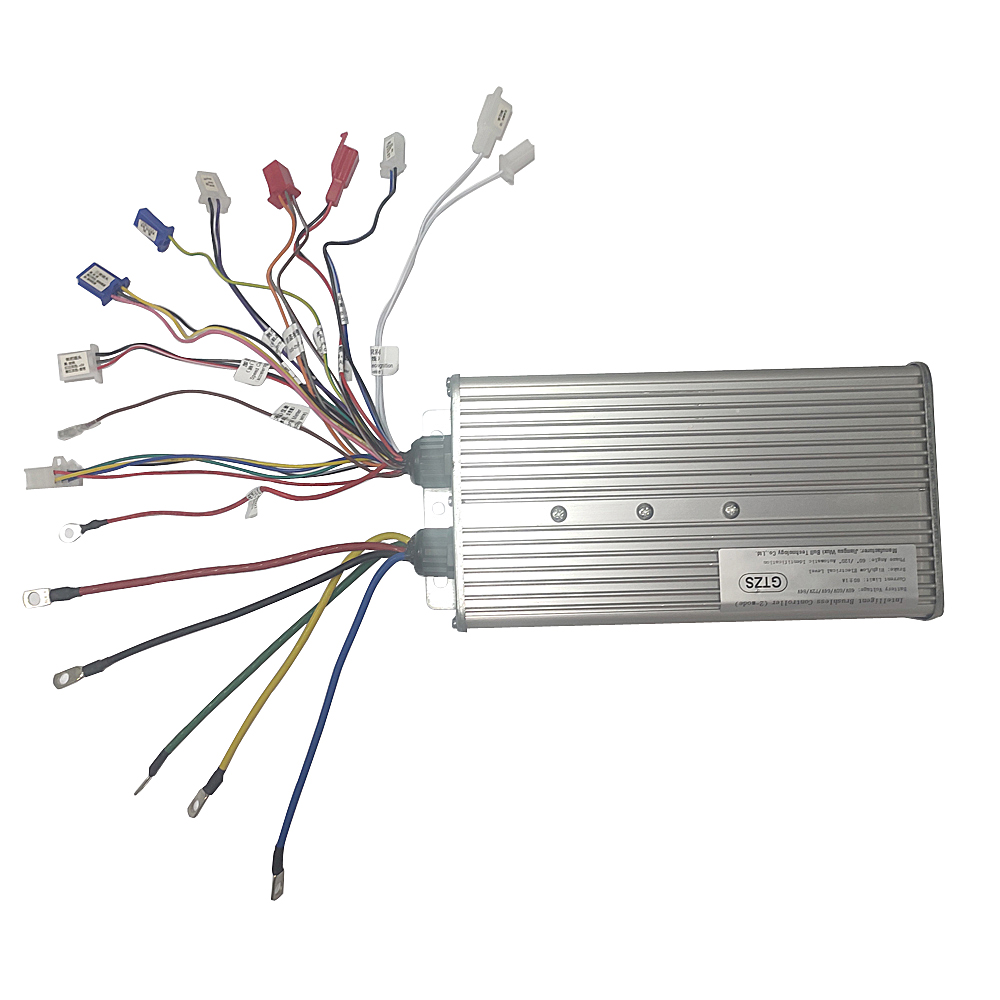 48V 60V 72V 84V 3000W Hub Motor Controller 24mos MAX80A Voor Elektrische Fiets/Trycycle/E-Scooter/Motorfiets/Bldc Motor Controller