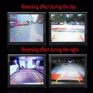 Image 5 - Auto Backup Kamera 4 8 12 LED licht nachtsicht rückfahr mit parkplatz linie IP68 wasserdichte Rückansicht Kamera