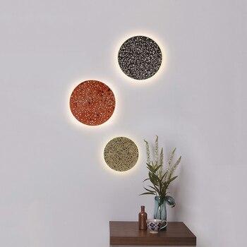 Lámpara de pared LED de piedra moderna para sala de estar, aplique de pared de lujo, Lustre, accesorio de iluminación de pared, hogar, interior