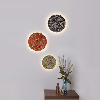 Post Modern Stone LED Wall Lamp For Living Room Luxury Sconce Wall Lamp Lustre Wall Lighting Fixture Home Indoor