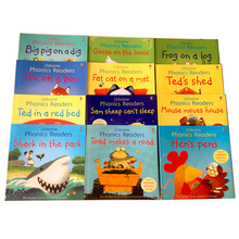 Readers 12-Books for Children Montessori Picture-Story-Book Kids Educational-Toys Classroom
