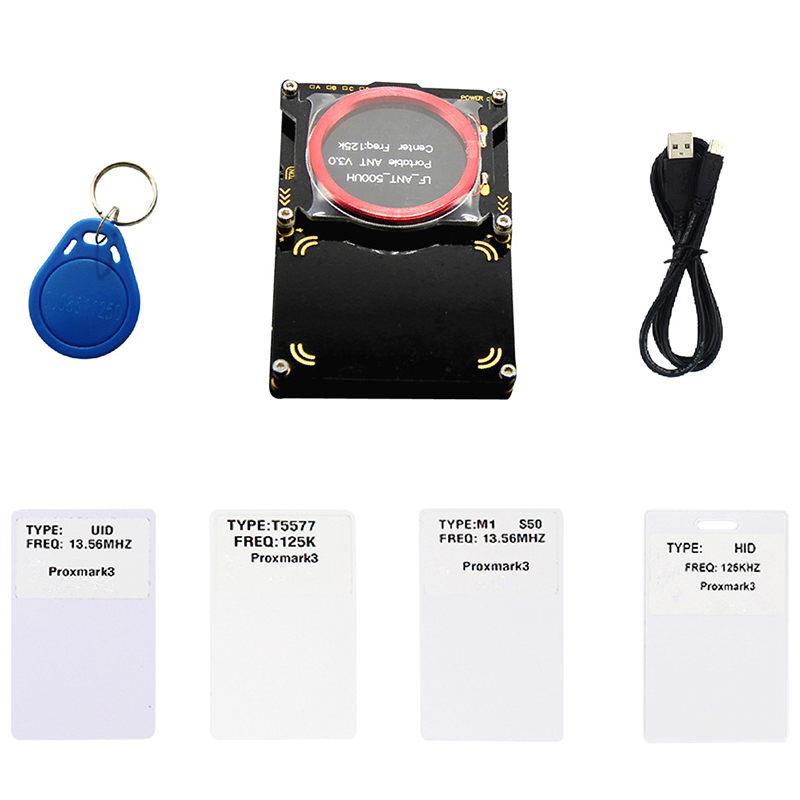 Proxmark3 Developer Suite Kits 3.0 Proxmark RDV4 NFC RFID Reader Writer For Rfid Nfc Card Copier Crack 2 USB Port 512K