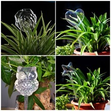 5Styles Rose Water Houseplant Plant Pot Bulb Little Owl Automatic Self Watering Device Gardening Tools Plant Watering Equipment