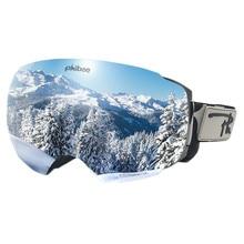 Ski-Goggles Glasses Uv400-Protection Skiing Men for Men/women Rove Anti-Fog Snowmobile