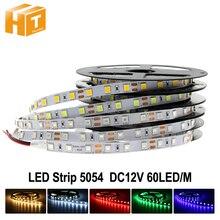 وصل جديد أكثر إشراقا LED قطاع 5054 DC12V مرنة مصباح ليد و RGB LED قطاع 5050,5054 هو ترقية 5050.