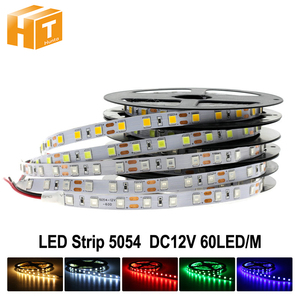 Image 1 - وصل جديد أكثر إشراقا LED قطاع 5054 DC12V مرنة مصباح ليد و RGB LED قطاع 5050,5054 هو ترقية 5050.