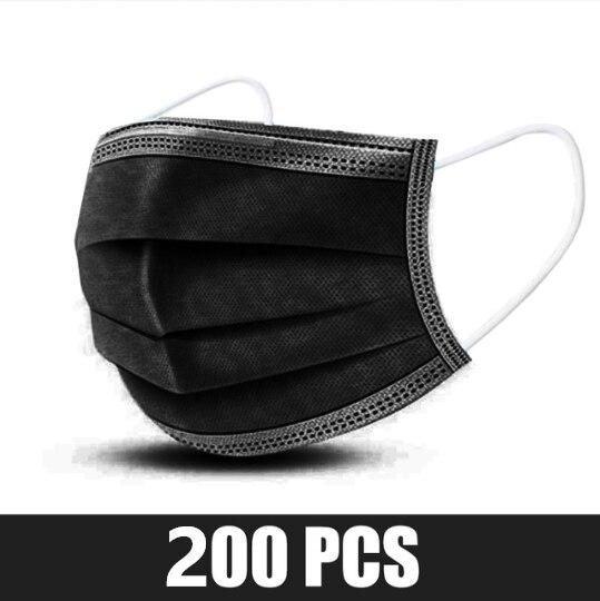 200pcs Black
