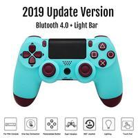 Для Ps4 playstation 4 Bluetooth беспроводной контроллер Dualshock двойной вибрации джойстик геймпады для PS4 консоли зарядное устройство