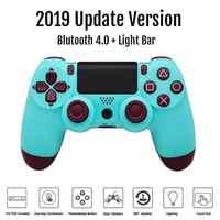 Para ps4 playstation 4 bluetooth controlador sem fio dualshock dupla vibração joystick gamepads para ps4 console carregador