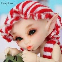 FreeShipping OUENEIFS Fairyland Realpuki Kaka bjd sd 1/13 body model baby girls boys dolls eyes High Quality jiont doll