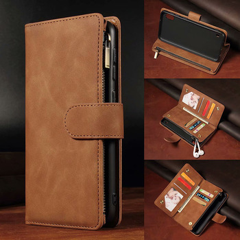 Luxury Leather Wallet For Xiaomi 9PRO/CC9PRO/NOTE10/NOTE10PRO/NOTE8/NOTE8 Pro Case Magnetic Flip Wallet Card Stand Cover Mobile
