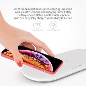 Image 4 - 3 Trong 1 Bộ Sạc Không Dây Cho Airpords Dòng Đồng Hồ Apple 2 3 4 Sạc Không Dây Miếng Lót Cho iPhone XR 11 pro XS MAX 8 Sạc Điện Thoại