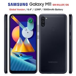 Глобальная версия Samsung Galaxy M11 M115F/DS 4G LTE мобильный телефон 6,4