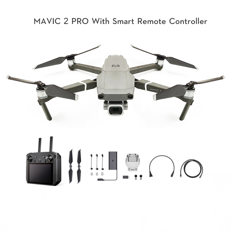 DJI Mavic 2 Pro / Mavic 2 Zoom Fly More Combo with smart controller