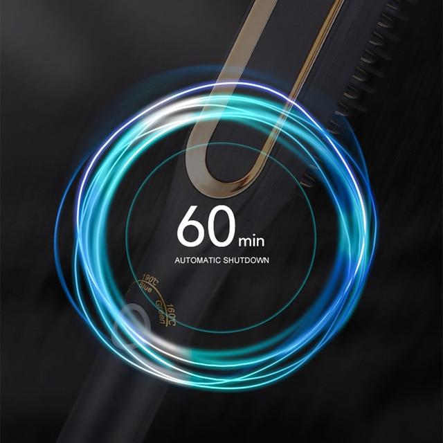 Hair Straightener Curling Beard Comb Straight Hair Comb Brush Hair Beard Curly Tool Bear Brush Beauty Health Styling For Men 3