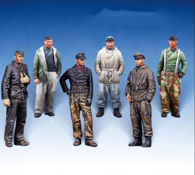1/72 Ancient Man Include 5 Stand Winter   Resin Figure Model Kits Miniature Gk Unassembly Unpainted