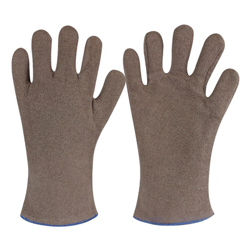 Sports Outdoor Gloves High Temperature Fireproof Wear-Resistant Insulation Gloves Anti-Scalding Industrial Oven Gloves New.