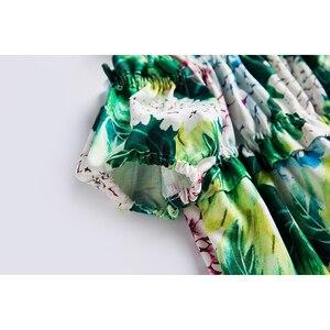 Image 4 - Beenira Girls Summer Dress 2020 New European And American Style Children Flower Pattern Sleeveless Dresses4 14Y Kids  Cute Dress