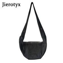 Jierotyx модная однотонная роскошная сумка на плечо дизайн для