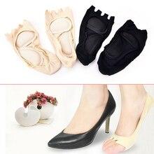 2Pcs Health Foot Care Massage Toe Socks Five Finge