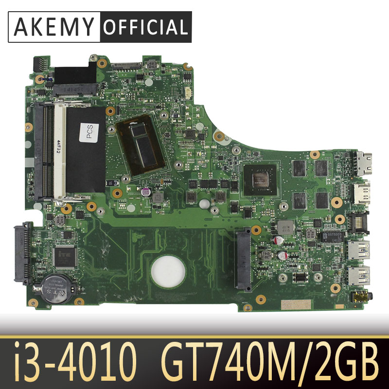 <font><b>X750LB</b></font> laptop motherboard For <font><b>ASUS</b></font> <font><b>X750LB</b></font> X750LN X750L K750L A750L mainboard motherboard test 100% ok I3-4010 CPU GT740M/2GB image