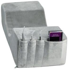 Image 3 - プロまつげエクステンション枕ヘッドレストネックサポートラッシュ枕とマイクロブラシアプリケーターそっとためメイク