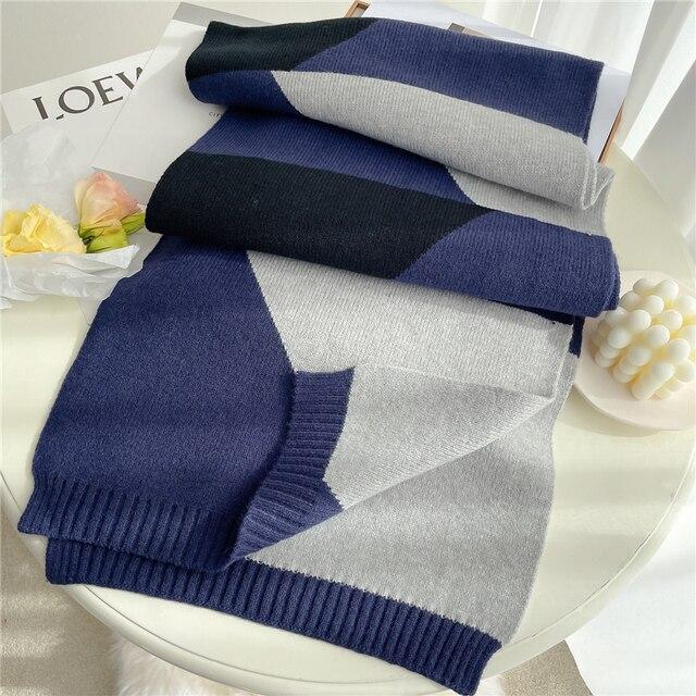 2021 вязанный длинный шарф для женщин 5