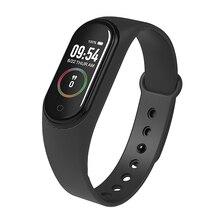 лучшая цена Touch Screen Smart Band 4 M4 Waterproof Fitness Tracker Smart Bracelet Blood Pressure Heart Rate Monitor Sport Watch Bracelet
