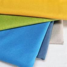 Effen Sofa Bekleding Stof Voor Meubels Linnen Materiaal Voor Maken Gordijn