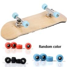 Maple finger skateboard/random color, miniature finger skateboard plastic finger skateboard toy Christmas gift